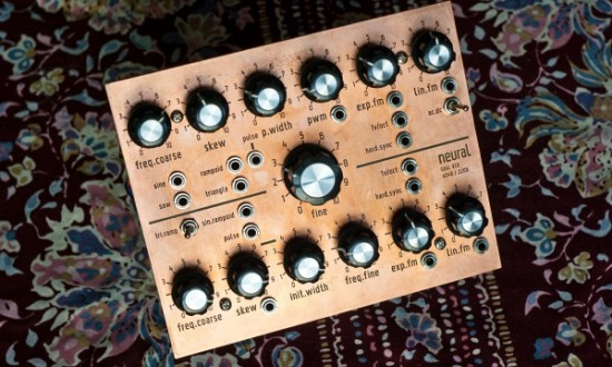 DIY modular synth 2012